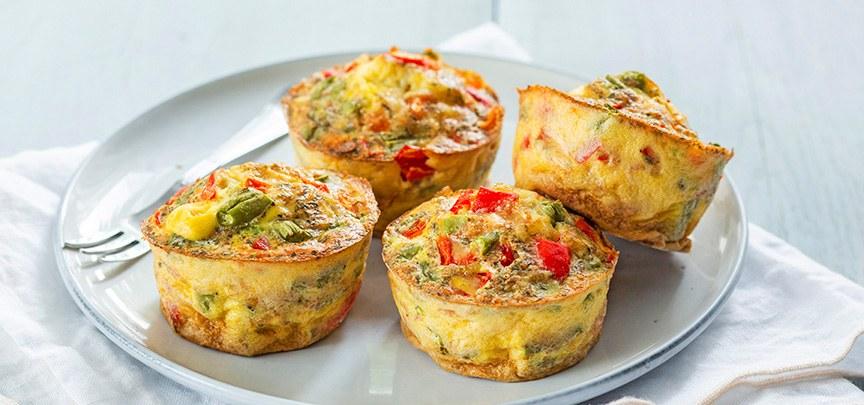 groente ei muffins